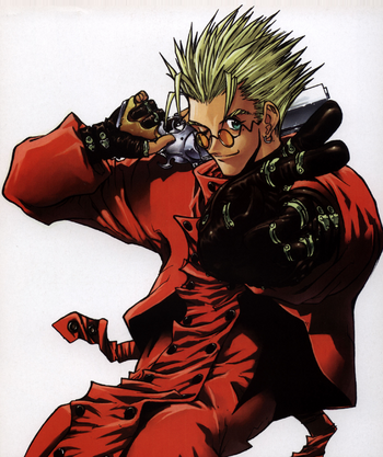 Vash The Stampede Trigun Wiki Fandom Powered By Wikia