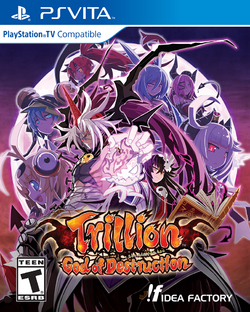 Trillion God of Destruction Standard Edition game cover (US)