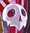 Faust Red Tie's Skeleton Mark