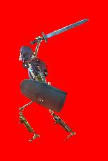 Armored Shield Skeleton