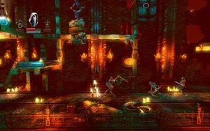 Armored Shield Skeleton - in game
