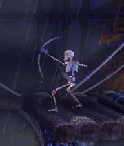 Archer Skeleton - close up