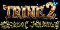 Trine 2 Goblin Menace logo