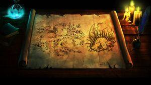 Dragon Graveyard Map