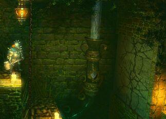 Stone Door - secret closed