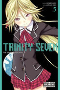 Trinity Seven Mira cover yen press vol4 MA