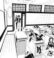 Lilith Arata classroom sleeping ch7 MA