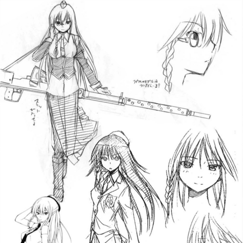 Early Character Designs 2