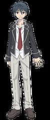 Arata Kasuga Anime Character Full Body