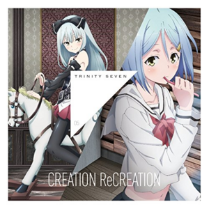 Trinity Seven CREATION ReCREATION cover Sora Hijiri MU