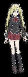 Selina Sherlock Anime Character Full Body