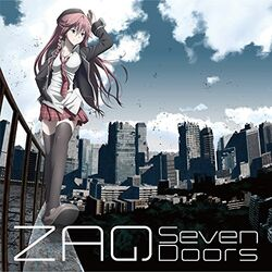 ZAQ Seven Doors CD DVD Cover