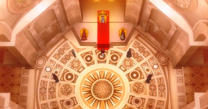Episode 9 (Papal throne room)