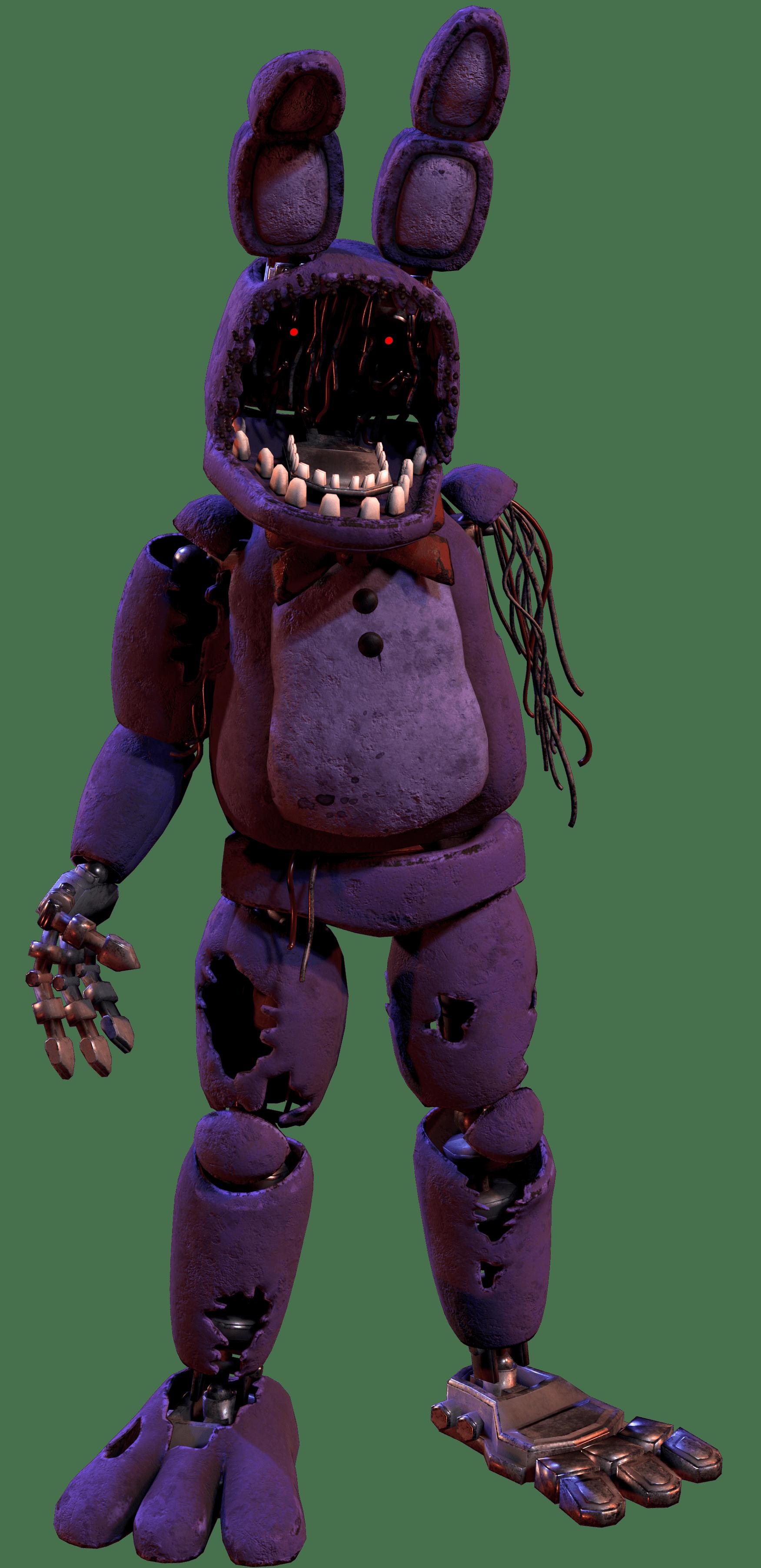 Withered Bonnie | Triple A Fazbear Wiki | Fandom