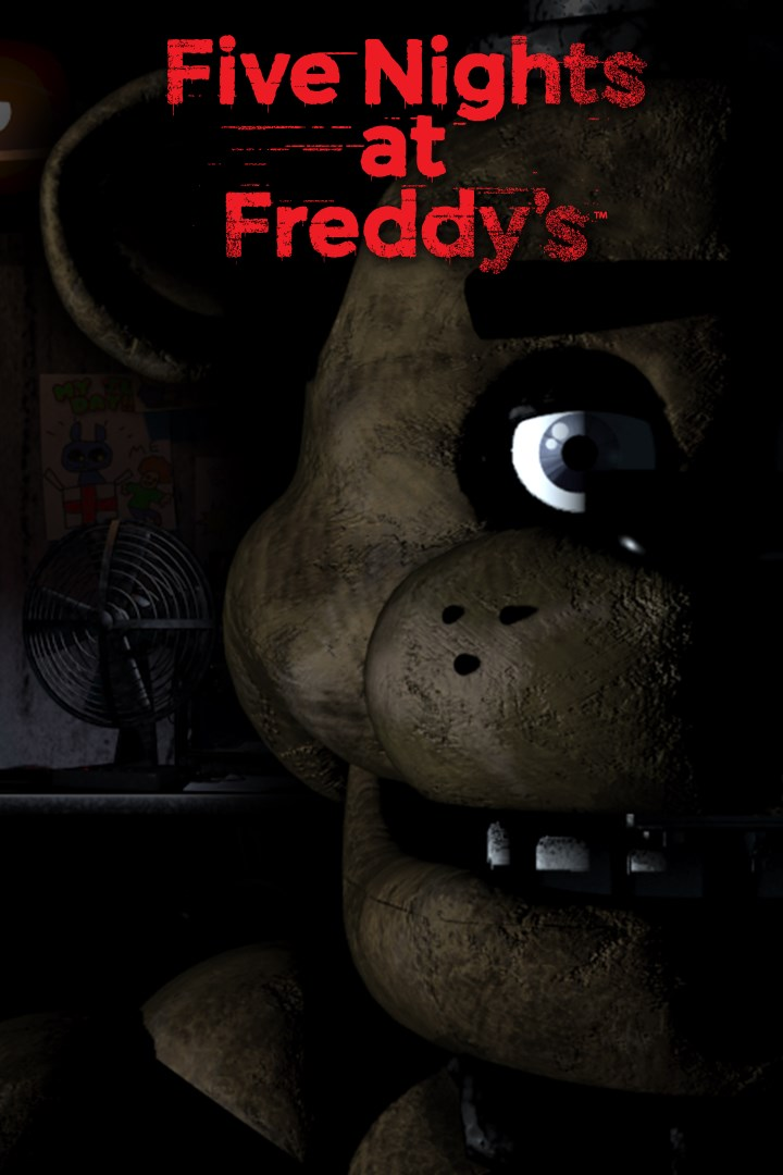 Five Nights at Freddy/'s Pizzeria Security Patch 3 1//4 inches wide