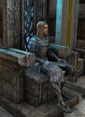 Ajaxandriel portrait trône