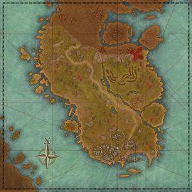 Iluvamir Lorathlien map