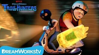 The Vespa Chase TROLLHUNTERS