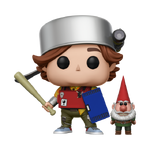 Toby (armored) with gnome