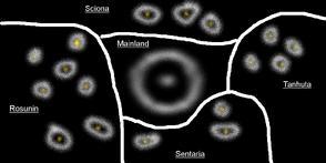 Finnittanian Galaxies map