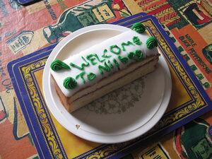 Nilbog cake