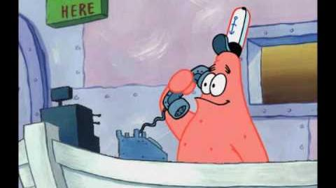 Is This The Krusty Krab No, this is Patrick...