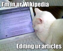 Wikipedia-lolcat