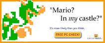 Mario in my castle