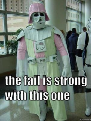 Fail is strong
