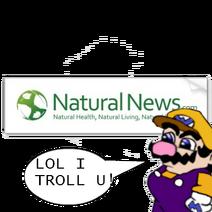 Walleo Trolls Natural News
