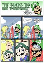 Sucks to be Luigi Portrait by kevinbolk