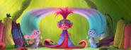 Princess Poppy trying on Dress 1