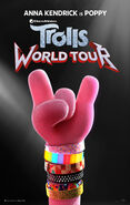 Trolls World Tour (2020) Teaser Poster
