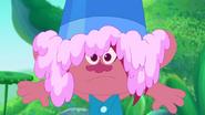 Bucket Ot Frosting On Poppy's Head