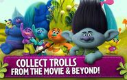 Crazy Forest Party - Collect Trolls from the Movie and Beyond