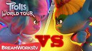 Branch is CAPTURED by K-Pop & Reggaeton Trolls TROLLS WORLD TOUR