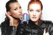 Satin and chenille icona pop