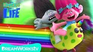 TROLLS Poppy Gets a UNICORN And Makes Branch Ride It! YOUR COMMENTS COME TO LIFE