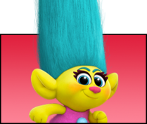 Trolls Film Smidge