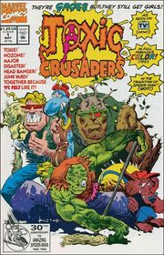 Toxic Crusaders Marvel issue 1