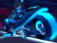 TRON Wiki - Light Cycle (Screenshot) KHII