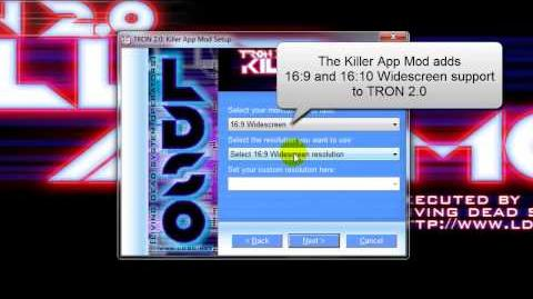 TRON 2.0 Killer App Mod Vista and Windows 7 Install Guide