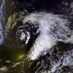Subtropical Storm One 22 apr 1992 1834Z.jpg