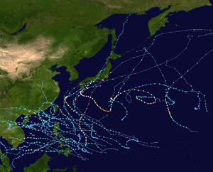 2017 Pacific typhoon season summary