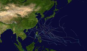1979 Pacific typhoon season summary