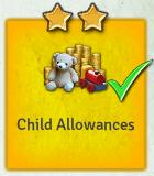Edict child allowances