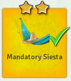 Edict mandatory siesta