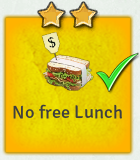 Edict no free lunch