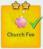 Edict church fee
