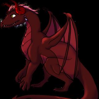 Dragon form (old design)